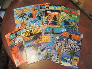 BATMAN BRONZE NICE LOT OF 8! #304,305,309,310,311,330,339,340 HIGHER FN/VF VF~NM