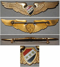 Emaillierte Spange Luftwaffe Irak / Badge Iraqi Air Force RAR