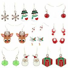 Zest 100 Christmas Themed Earrings in Assorted Designs
