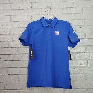 Nike NFL New York Giants Logo Sideline Elite Performance Womens Polo Size S $80