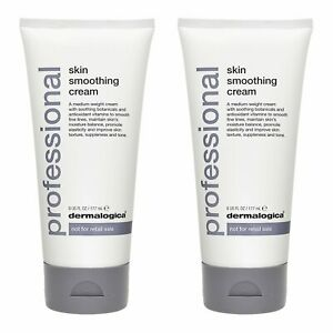 2 PCS Dermalogica Skin Smoothing Cream 6oz, 177ml (Professional Size)