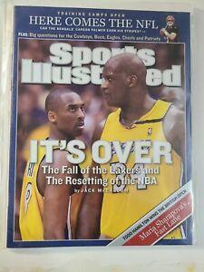 Kobe Bryant -Shaq Los Angeles Lakers Sports Illustrated No Label Black Mamba