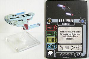 Star Trek Attack Wing - U.S.S.Yeager Expansion / Erweiterung