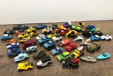 Large Lot Of 48 Micro Machines & Other Brands Hot Rods Classics Camero Boats Car