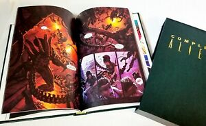 Compleat Aliens Hardcover Slipcase 30 of 500 Signed foldout Dark Horse 1993