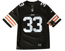 Trent Richardson Cleveland Browns On Field Nike Mens Sewn Jersey S Small #33 NWT