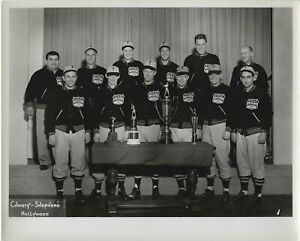 San Francisco Giants Announcers Lon Simmons & Bill Thompson Original 1950 Photo
