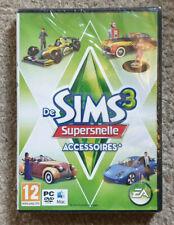 PC DVD The Sims 3 Fast Lane Stuff Expansion New Dutch Version Eng Game Damaged