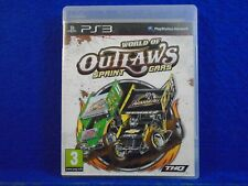 ps3 WORLD OF OUTLAWS Sprint Cars PAL English Language REGION FREE