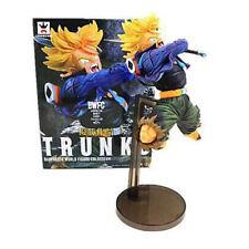 Cartoon Anime Dragon Ball Z Jumping Torankusu Trunks Statue PVC Figure Doll 19cm