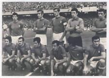 1970 WORLD CUP in Mexico - ITALIAN team POSTCARD Football ITALY Soccer FIFA