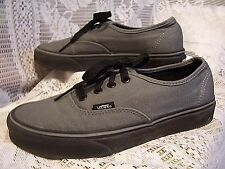 VANS GRAY BLACK TENNIS SHOES FASHION SNEAKERS WOMENS SIZE 7 1/2
