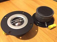 COPPIA TWEETER DOPPIO MAGNETE 320W 8ohm - 46 mm + CONDENSATORI CIARE