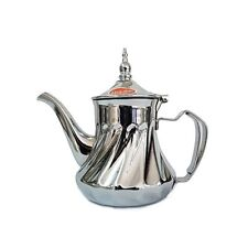 Moroccan Serving Tea Pot Stainless Steel Large Size