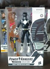 Power Rangers Lightning Collection BLACK RANGER Mighty Morphin IN HAND Mint Zach
