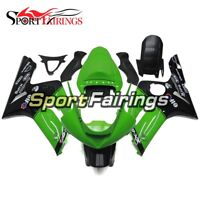 Green Black Fairings For Kawasaki ZX6R 2003 2004 636 ZX-6R 03 04 zx636r Cowlings