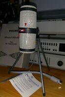 MINT AKG D77A D77 PHILIPS STEREO CARDIOID EV 7020/20 DIN MICROPHONE SPACE AGE