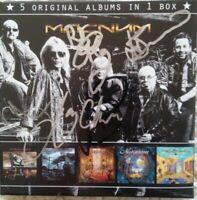 Magnum - 5 Original Albums in 1 CD Box Signiert SIGNED - NEU NEW Cardboardsleeve
