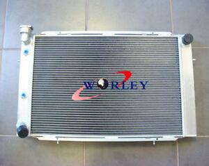 Aluminum Radiator for HOLDEN WB STATESMAN UTE SEDAN 253 & 308 V8 1980-1984