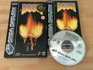 Doom - PAL - SEGA Saturn  PAL    FREE UK P&P