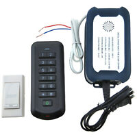 Wireless Door Access Keypad RFID Cad Reader Bell Exit Switch Entry Control Kit