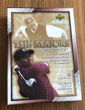 2002 Upper Deck~TIGER WOODS~THE MAJORS~30 Golf Cards Complete Set~Opened w/ Box
