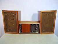 Vintage Sony 8FS-50W AM FM Stereo Radio Receiver with Speakers EUC