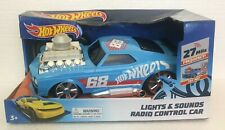Hot Wheels Radio Control Car Lights & Sounds 27 MHZ Frequency Age 3+ New