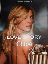 """AFFICHE  POSTER  GEANT   CHLOE """" Clémence POESY """"   180 x 120   TBE  NON   PLIEE"""