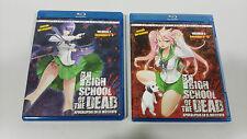 HIGH SCHOOL OF THE DEAD VOL 2 + VOL 3 COMBO 2 BLU-RAY + 2 DVD MANGA SIN CENSURA