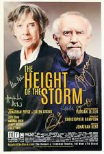 Full Cast Eileen Atkins, Jonathan Pryce + Signed HEIGHT OF THE STORM Poster