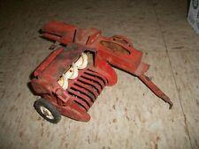 Vintage Tru-Scale Hay Baler Diecast Metal Red Farm Toy Model USA