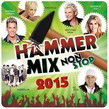 DER HAMMER-MIX NON-STOP 2015 - BEATRICE EGLI/DJ ÖTZI/VOXXCLUB/MICHELLE/+ CD NEUF