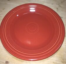 """Fiesta DINNER PLATE - 10 1/2"""" - New Never Used  - Retired Color- PAPRIKA"""