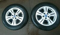 FORD GALAXY WHEEL PAIR OF ALLOY WITH 215/60 R16 95H RPX-800 TYRES