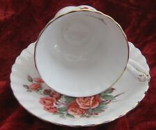 1 - Royal Albert Centennial Rose Tea cup and Saucer (2018-088)