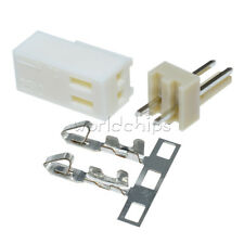 50pcs Kf2510 2p 254mm Pin Header Terminal Housing Connector Kit New