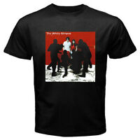 The White Stripes *White Blood Cells Rock Band Men's Black T-Shirt Size S to 3XL