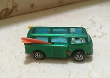 Hot Wheels Redline VOLKSWAGEN BEACH BOMB VAN 1969 Original 100% Todo y la tablas