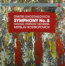 CD Shostakovich-Symphony No. 8, Rostropovich