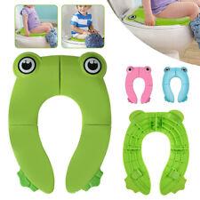 Home Riduttore WC per Bambino Portatile Sedile WC Pieghevole Riutilizzabili New