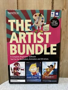 The Artist Bundle 3 Pack Super Value for Windows & Mac SmithMicro Software