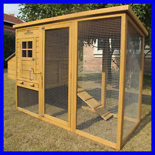 Pets Imperial® Large Chicken Coop Hen House Poultry Ark Rabbit Hutch Duck Birds