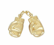 NEW 9ct Yellow Gold Pair of Boxing Gloves Pendant 20mm x 10mm 1.9 grams