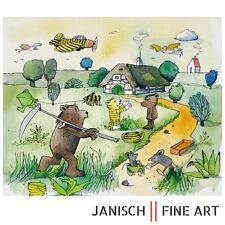 """JANOSCH - """"Da kommt ein Bär von Stuttgart her"""", handsigniert, Auflage 99, 2013!"""