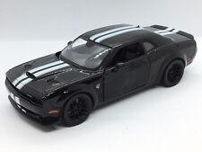 Motormax 1/24 2018 Dodge Challenger SRT Hellcat Widebody BLACK  79350-BLK