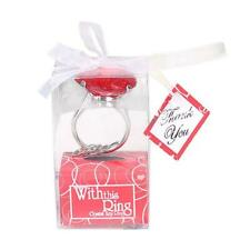 Diamond Engagement Ring Keychain Favors and Gifts for Wedding Bridal grace Guest