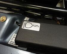 Engine bay restoration sticker for 928 928S 928S4 - Headlight Level decal