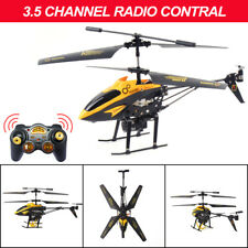 12in Kids toy 3.5CH Gyro Helicopter RTF Remote Control Airplane Toys LED+Basket