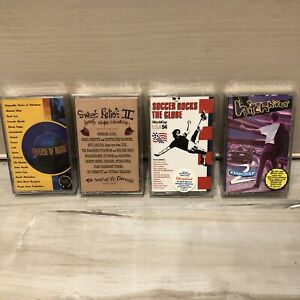 4 90s Compilation Tapes Sweet Relief II In Defense Of Animals USA 94 Hitchhiker